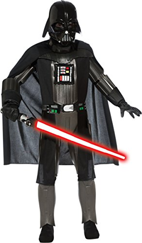 [Costumes For All Occasions RU881359LG Darth Vader Deluxe Child Large by Unknown] (Darth Vader Girls Dress Costumes)