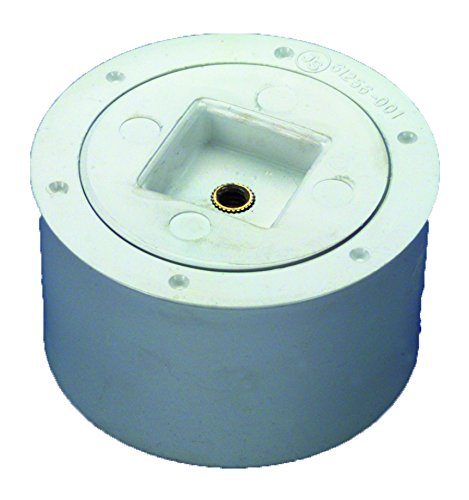 Od Pvc Pipe (Zurn CO2412-PVC PVC Cleanout Body with Plug, 2