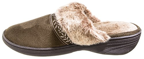 Clog Women's Addie Fatigue Microsuede ISOTONER vgpx6W