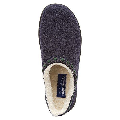Pedic Women's Tempur Navy Slipper Subarctic RTfHqwO4