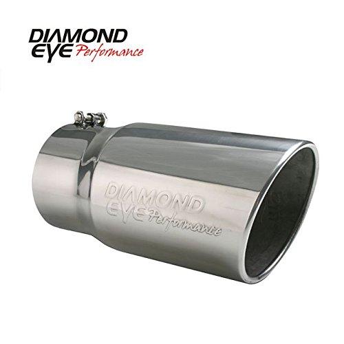 (Diamond Eye 4512BRA-DE Exhaust Tail Pipe Tip)