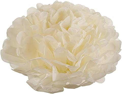 Ginger Ray Vintage Lace Tissue Paper Pom