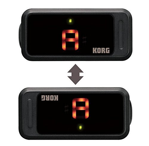 - Korg Pitchclip PC-1 Instrument Tuner - Ultra Portable- Easily Folds - LCD Screen - Low Profile - Easy to Read