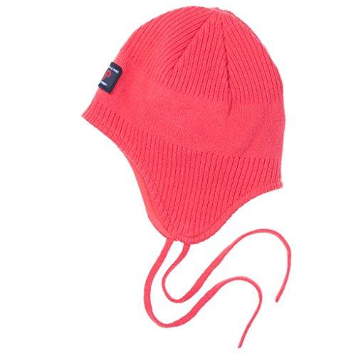 Polarn O. Pyret Ribbed Helmet (Newborn) - 2-4 Months/Paradise Pink