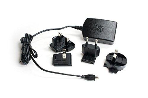 37 opinioni per Prodotto con licenza ufficiale Raspberry Pi 3Adattatore Nero–2,5a/5V