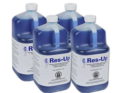 Res-up water softener cleaner - Case of 4 Gallons (Case 4 Cleaner Gallon)
