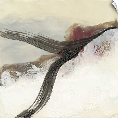 CANVAS ON DEMAND Wax Ribbon I Wall Peel Art Print, 12