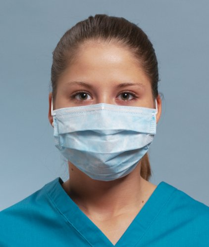 DEFEND- Diffuser (Anti-Fog) Ear-loop Pleated Mask Pink 50 bo 113692 Us Depot ()