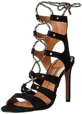 Dolce Vita Women's Howie Gladiator Sandal, Black, 6 M US