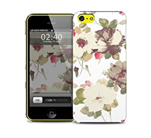 Vintage Floral Watercolour iPhone 5c protective phone case