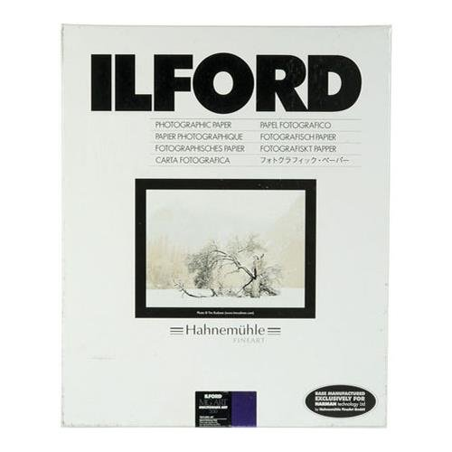 Ilford Multigrade Art 300, Variable Contrast, Black and White Matte Surfaced Fiber Based Photo Paper on a Textured Fine Art Base, 5x7'', 50 Sheets by Ilford (Image #1)