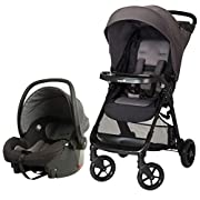 Safety 1st Smooth Ride Travel System with OnBoard 35 LT Infant Car Seat, Monument 2