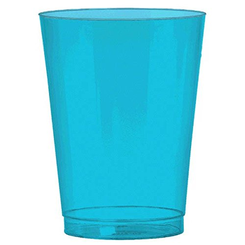 Caribbean Blue Plastic Cup Big Party Pack, 10 Oz., 72 Ct.