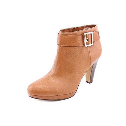 Giani Bernini Womens Berdie Leather Closed Toe Ankle Fashion Boots Tan