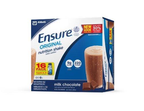Ensure Bottles, Milk Chocolate, 8-Ounces, 48 x 8-fl-oz Bottles