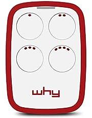 Why Evo 2nd generation vervangende handzender (universele afstandsbediening), Granade Red