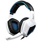 [2016 New Updated]Sades SA920 Wired Stereo Gaming Headset Over Ear Headphones with Microphone for Xbox One / Xbox 360 / PS4 / PC /Cell phones / iPad(Black/White) Review