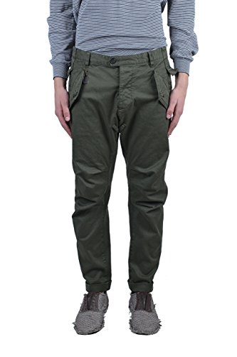 (Dsquared2 Men's Green Cropped Casual Pants Size US 28 IT 44)