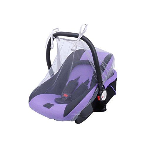 Moonvvin - Mosquitera universal para cochecito de bebé, mosquitera para asiento de coche azul azul Talla:88 X 110CM Moonvvvin