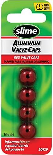 スライム slime バルブキャップ 赤 (4個入り) 0361-0074 20129