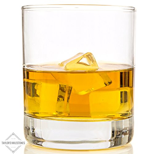 Taylor 39 d milestones scotch glasses premium 10 oz whiskey for Perfect kitchen sharjah