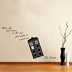 Doctor Who Tardis Wall Decals