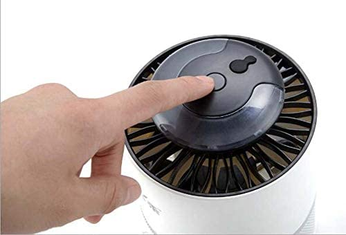 YOOOOP Phantom-Fotokatalysator Insektenvernichter LED-Innenraum-Insektenvernichter mit Energieeinsparung Kein Strahlenvernichter Insektenvernichter Kreativ,Weiß