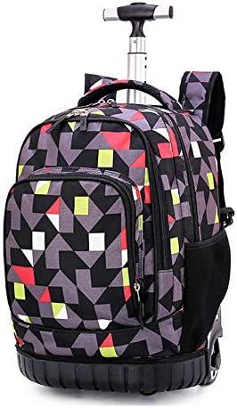ZHALSA Junior High School Student Trolley, männliche und weibliche Kabine Reisetasche, Erwachsenen Roller Reisetasche, geeignet zum Einkaufen, Reisen