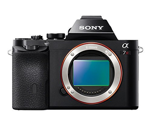 Sony ILCE7R/B a7R Full-Frame Interchangeable Digital Lens Camera (Body) w/ Sony FE 70-200mm F4 G OSS Interchangeable Lens, Sony HVLF60M Flash, Deluxe Kit 64GB