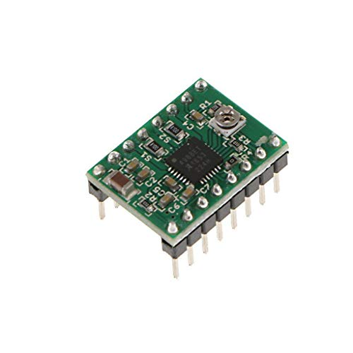 - UIOTEC A4988 Compatible StepStick Stepper Motor Diver Module with Heat Sink for 3D Printer Controller Ramps 1.4