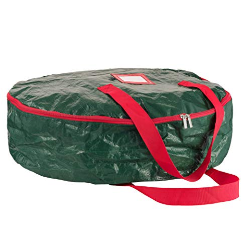 (ZOBER Christmas Wreath Storage Bag 30