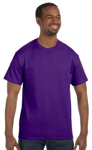 Gildan Men's Heavy Cotton T-Shirt - 5000 - Purple - 3X-Large - Purple 3x T-shirt