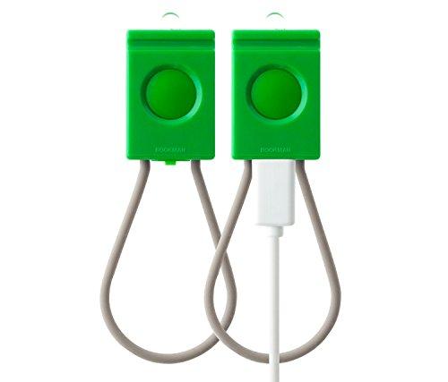 Bookman: USB Rechargeable Cycling Light Set - Shamrock Green (Bookman Bike Lights)