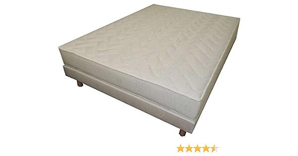 Mobilia Confort máquina Francais – Conjunto colchón + somier 140 x 190 cm, Espesor 15 cm