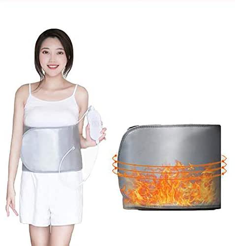 ZFAZF Vibration Massage Weight Lose Belt Far Infrared Heater Sauna Slimming Belt with 4 Motors Weight Losing Health Care Tools for Women and Men