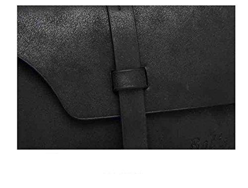 Frauen Taschen, Damen Handtaschen, PU Leder Schulter Beutel - Schwarz