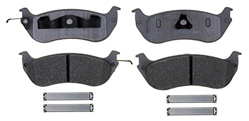 ACDelco 14D674AMH Advantage Semi-Metallic Rear Disc Brake Pad Set with Hardware