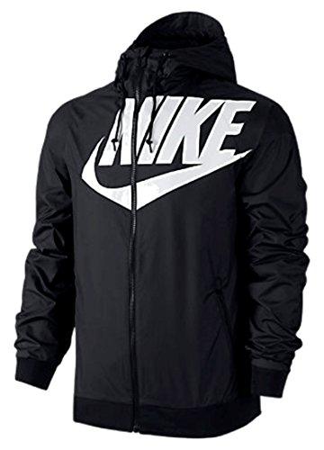 Nike M NSW WR Jacket GX 1 schwarz--902351 010--LARGE---(WINDRUNNER JACKET) by NIKE