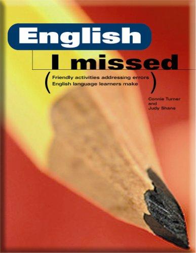 ENGLISH I MISSED