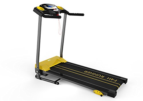F4H FOLDING TREADMILL FITNESS EXERCISE RUNNING MACHINE MOTORISED RAPID...