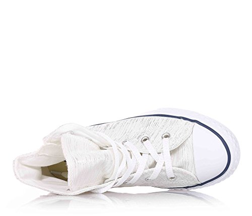 Junior high 352691C CONVERSE zapatillas de deporte TODO ZIP ESTRELLA HI Bianco