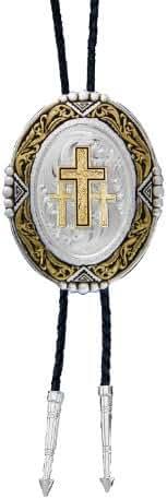 Montana Silversmiths Men's Triple Cross Bolo - Bt47-855
