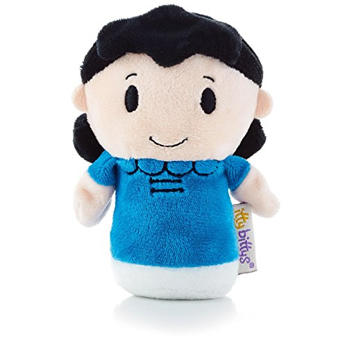 Hallmark itty bittys Peanuts Lucy Stuffed Animal]()