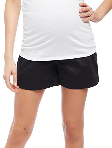 Motherhood Secret Fit Belly Sateen Maternity Shorts by Motherhood Maternity