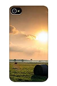 Case For Iphone 4/4s Tpu Phone Case Cover(sunset) For Thanksgiving Day's Gift