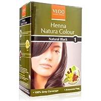 VLCC Natural Sciences Henna Natura Colour - Natural Black (pack of 2)