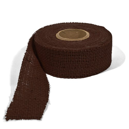 Burlap Ribbon - Brown, 1.5 Inch X 10 Yards The Felt Store