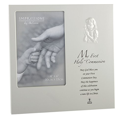 Oaktree My 1st Holy Communion Girl Aluminium Photo Frame 4 x 6 -