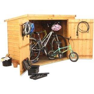 BillyOh cobertizo de bicicleta cortacésped Store 3 x 6.: Amazon.es ...