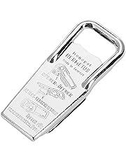 Westmark Flask- och skruvlocköppnare samt lock i ett, 3-i-1, Stål/gummi, 8,6 x 3,7 x 1,5 cm, Hermetus, Silver/röd, 61832270